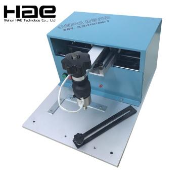 Máquina de grabado de la placa de identificación eléctrica de Pote