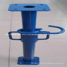 Étrier télescopique réglable d'étayage d'accessoires d'acier d'échafaudage