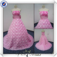 PP2411 Real Sample rosa Bling Designer Alibaba Brautkleid 2013