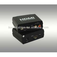 Convertisseur VGA + R / L TO HDMI (permet à un périphérique VGA + R / L de convertir facilement sur un moniteur ou un projecteur HDMI1.1)