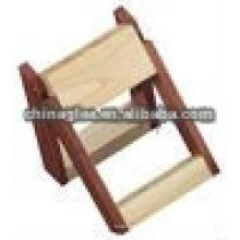soporte de madera de la pluma