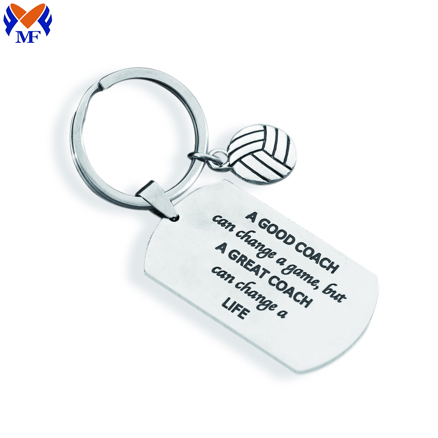 Steel Keychains Stainless