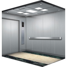 Machine Room Bed Lift with Safety Working Double Door Opening