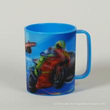 Taza de agua Lenticular estándar del PP del efecto 3D