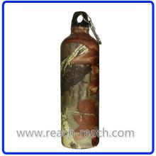 Reise-Flasche Aluminium Trinkflasche mit Karabiner (R-4048)