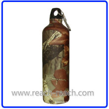 Travel Bottle Aluminum Water Bottle with Carabina (R-4048)