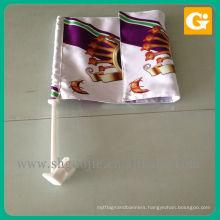 Custom new design style decoration car flag for wholesale