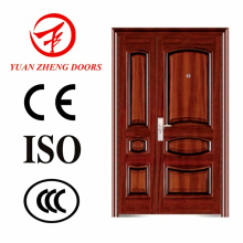 China Supplier Steel Double Doors