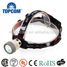 Rechargeable night Q5 LED headlamp