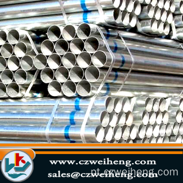 Fornecimento de China Erw Steel Pipe