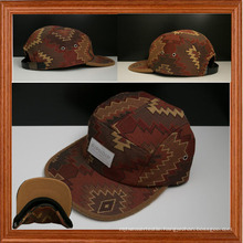 5 Panel Caps with Woven Patch (LT130607C)