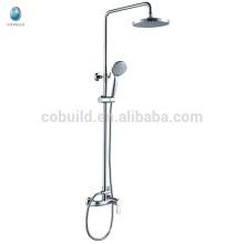 КДС-04 цена Китая гарантия качества твердой латуни душ головы комплект, современный хром закончил ванная комната фитинг душ глава установить