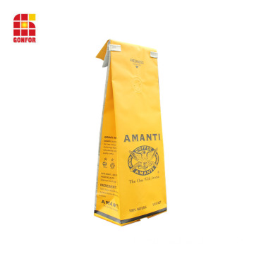 1 Pound Coffee Bag con laccio e valvola