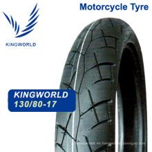 Neumático sin cámara de Moto 130 / 80-17