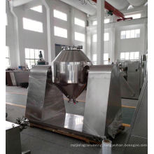 2017 W series double tapered mixer, SS double cone mixer principle, horizontal spice blender