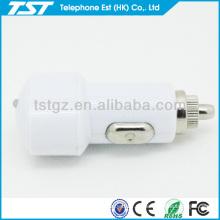 Portátil personalizado único cargador de coche USB adaptador para teléfono inteligente