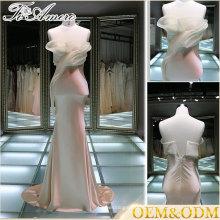 2017 High quality women maid of honor sheath evening dress