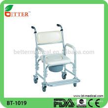 Cadeira de alumínio com rodas
