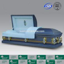 LUXES American Popular Metal Caskets Funeral Steel Caskets For Sale