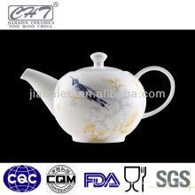 A071 Japanese restaurant porcelain tea pots with bird design