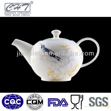 A071 Café japonais à thé en porcelaine avec conception d'oiseaux