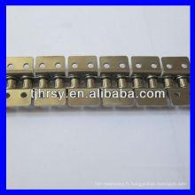 Short Pitch Attaches en acier inoxydable en acier inoxydable K2 (les deux côtés)