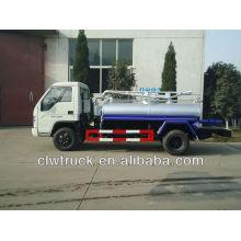 3000L Foton camión fecal, camión de succión fecal