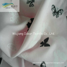 75DX150D Printed Plain Polyester Microfiber Peach Skin Fabric For Shirt