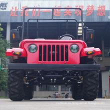 Jinyi Factory El aceite más bajo del precio refrigerado por aceite 4-CVT con marcha atrás 200cc Gy6 gas del motor Pedal adulto Go Kart (JYATV-020)