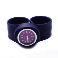 Fashion Silicone Quartz Watch Slap Band