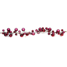 Hot Selling Shatterproof plastic ball xmas garland