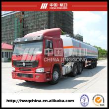 Reboque de tanque de GNL e GLP transporte caminhão-tanque com preço do competidor