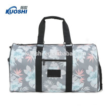 Top quality fashion canvas barrel tote bag