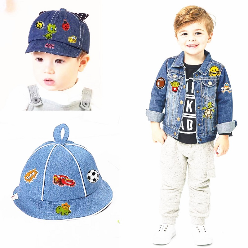 Clothes Embroidery Kids Badges