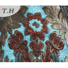 Colorful Chenille Jacquard Sofa Cloth Design in China Munufactory