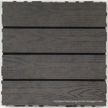 Hl Eco-Friendly Wood Plastic Composite (WPC) Decking Tile Measures 300*300mm