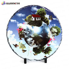 Sublimation leere beschichtete Rock Foto Frame Schiefer