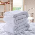 Linge d'hôtel / blanc tissé uni NYC hôtel utilisé serviettes de bain en coton turc