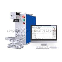50W Allemagne Machine à gravure laser à fibre optique Ipg / Machine à gravure profonde mini laser pour acier