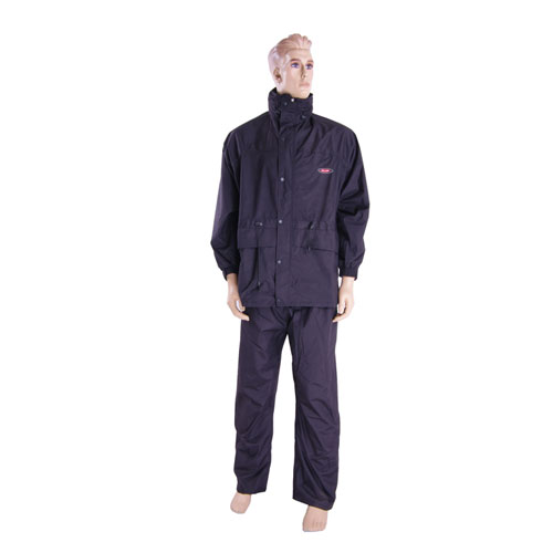 170T polyester pvc raincoat