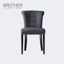 Bague en tissu de style antique retour maître meubles de maison à manger chaise