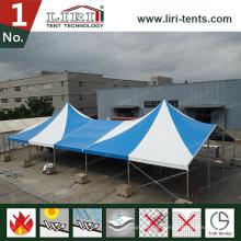 Tente haut de gamme faite sur commande de luxe avec la couleur bleue et blanche pour des événements