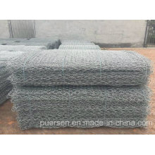 Galvanized Hexagonal Wire Netting for Stone Cage by Puersen