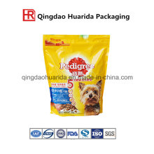 Quad Sealed Dog Food Bag with Bellows