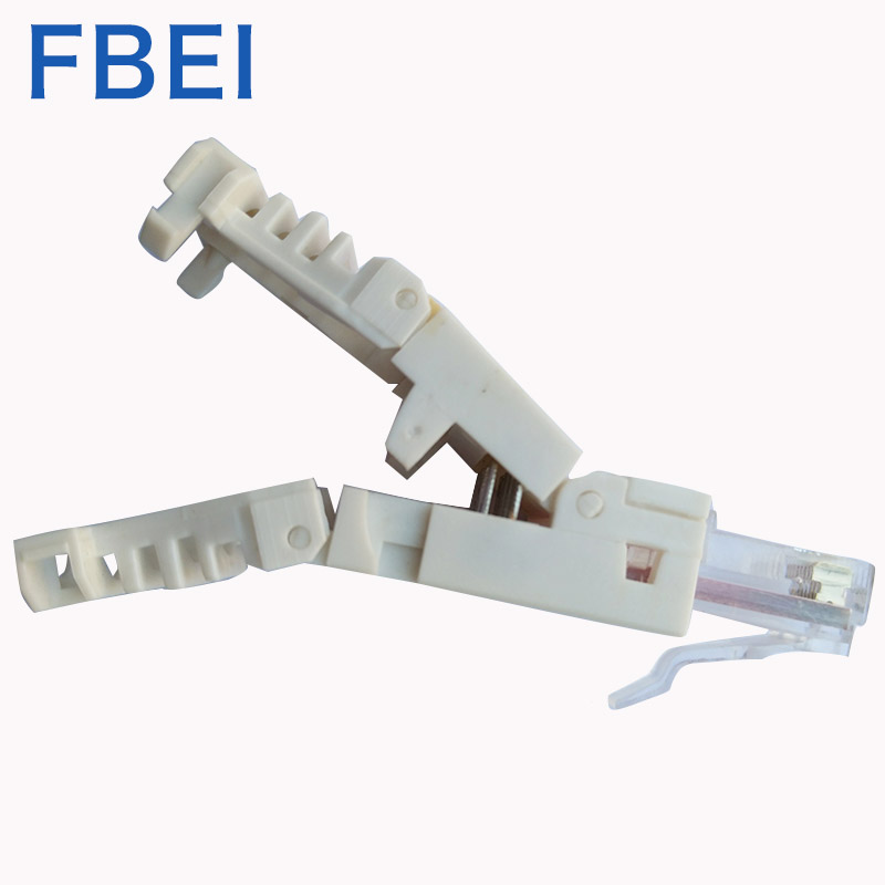 RJ45 Cat6A Toolless-Stecker 8P8C Toolless-Steckerstecker