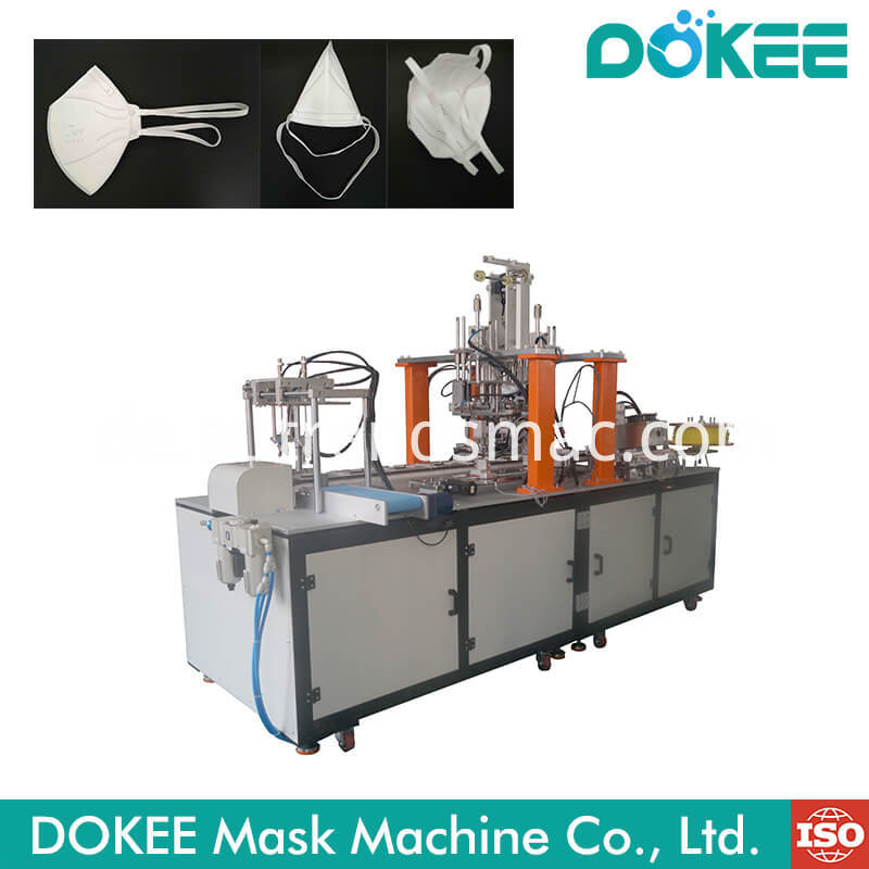 Folding Mask Head Strap Ear Loop Welding Machine
