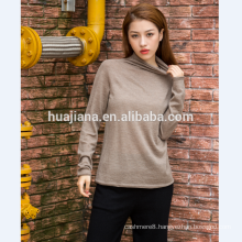 woman's worsted cashmere base shirt