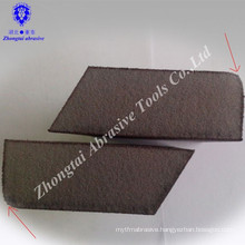 Radian with angle high density hand sponge sanding block