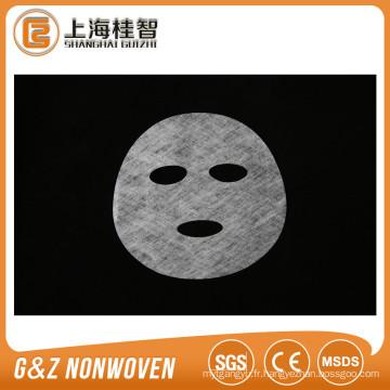 feuille de masque facial de collagène de tissu non-tissé