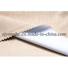 "100% Polyester 3 Pass Blackout Coated Flocking Fabric for Curtain (57/58"")"